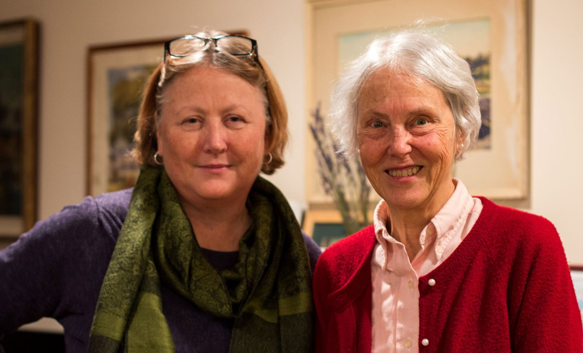 Louise Kennedy and Nancy Sizer